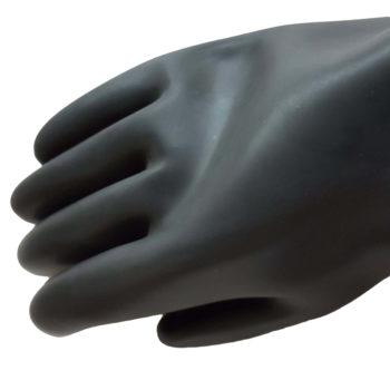Produktbild - Gummi Handschuhe - Ansicht von Oben
