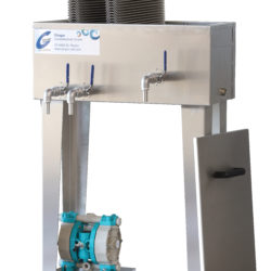 GLOGAR – Fettabscheider DPS 100 manuell (L160 E /L190 E / L210 E)