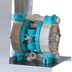 GLOGAR – Entleerungspumpe pneumatisch (L160 E /L190 E / L210 E)
