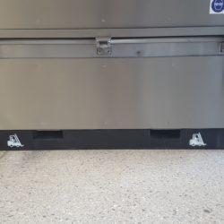 GLOGAR – Stapleraufnahme (Material Stahl – schwarz lackiert)