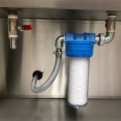 GLOGAR – Ciclo di lavaggio – pulizia con un pennello (HP 25 / HP 30)
