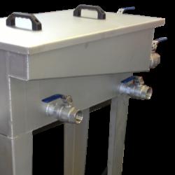 GLOGAR – Vorbereitung Öl-Separator (L160 E /L190 E / L210 E)