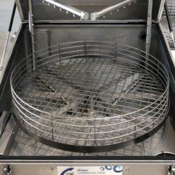 GLOGAR – Wasserkreislauf und Korb in Edelstahl 1.4301 (Kombi L101 HP)