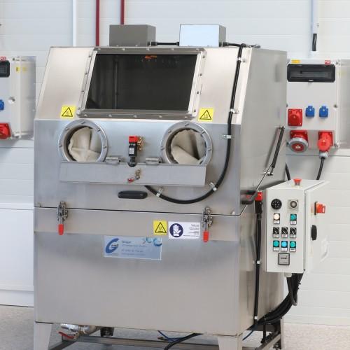 Kombi-Spritz-Reinigungsanlage Glogar L102 HP